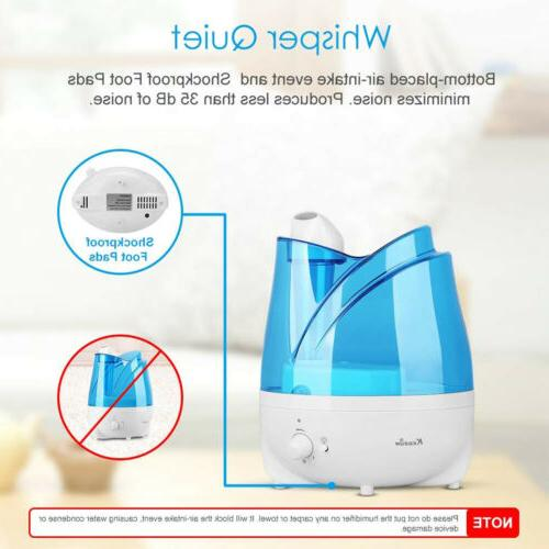 2L Cool Maker Quiet Humidifier Tray