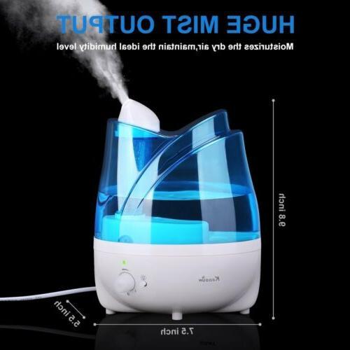 2l water cool mist maker ultra quiet