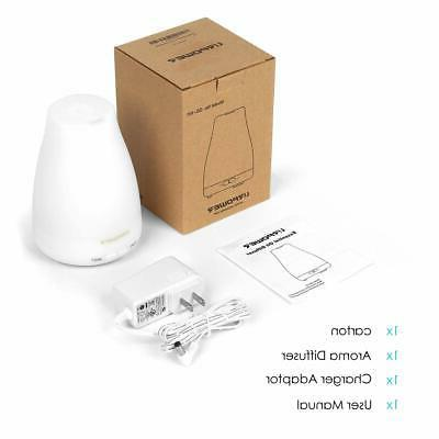 URPOWER Version Essential Oil Diffuser Cool Humidifier