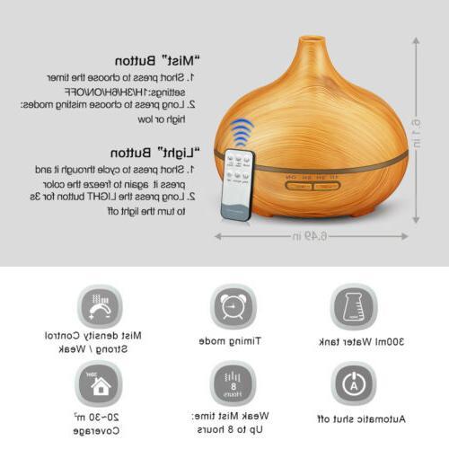300ml Humidifier Purifier