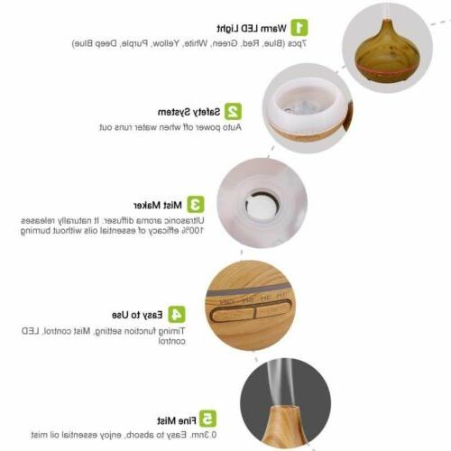 300ml Aroma Essential Oil Mist Purifier