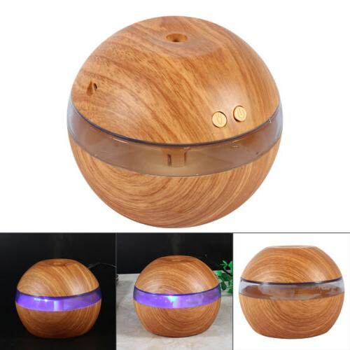 300ml Humidifier LED Aroma Oil Home