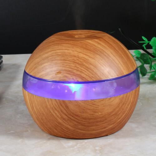 300ml Humidifier Aroma Essential Oil Diffuser Home