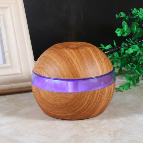 300ml Cool Ultrasonic Humidifier Aroma Oil Diffuser Home