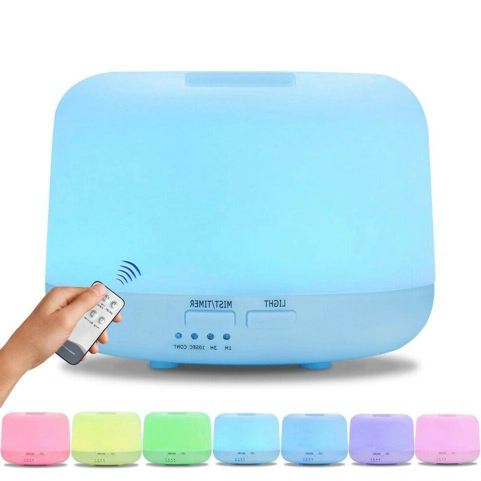 300ml Humidifier Essential Oil Diffuser Aromatherapy