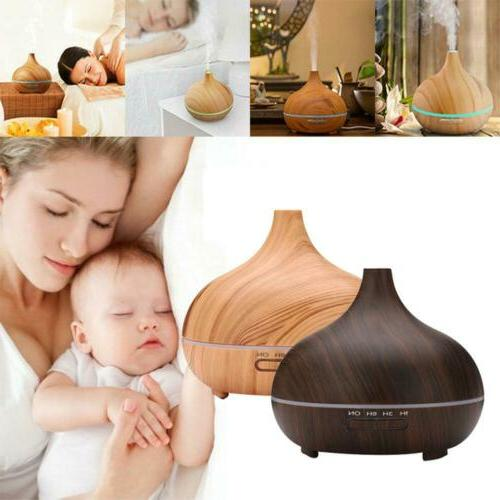 300ml led oil aroma diffuser aromatherapy air