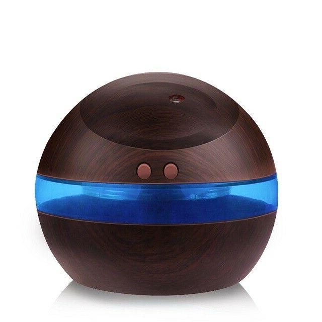 300ML Aroma Humidifier LED Oil Diffuser