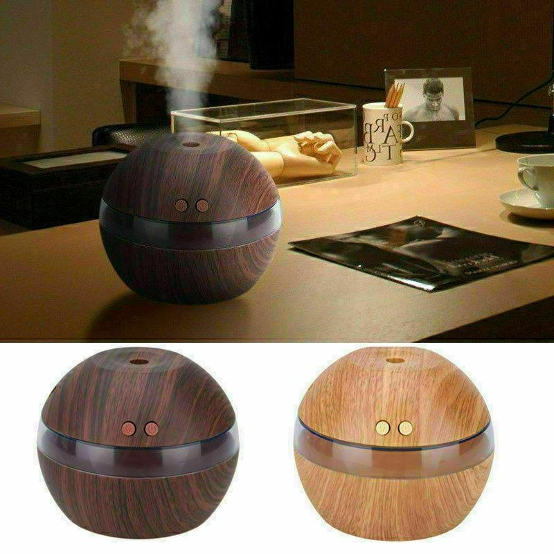 300ML Humidifier Aroma Essential Diffuser Purifier