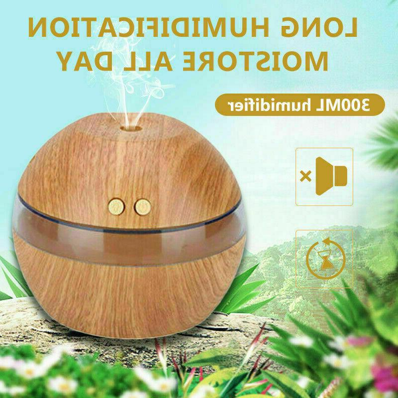 300ML Humidifier Essential Diffuser Office