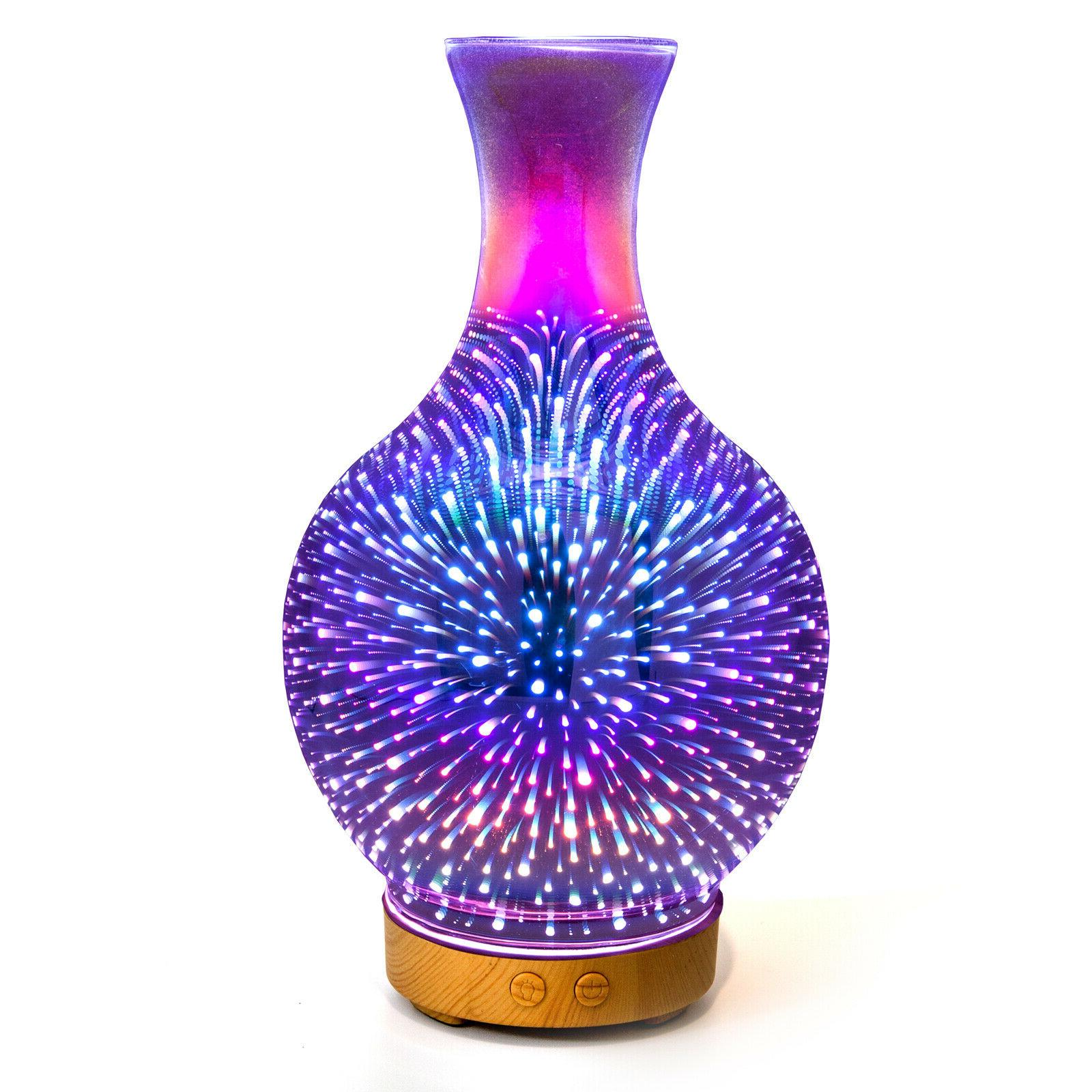 3d aromatherapy essential oil diffuser ultrasonic aroma