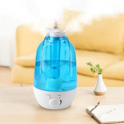 3L/4L Humidifier Home Mist Purifier LED