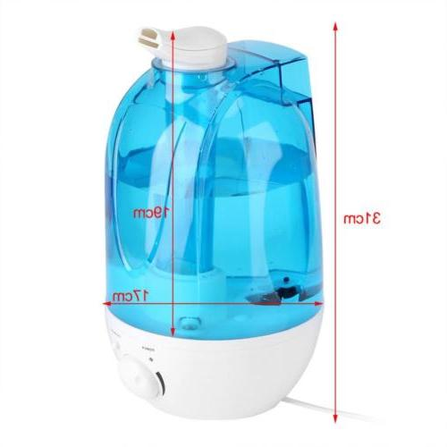 3L/4L Ultrasonic Humidifier Diffuser Home Mist Air Purifier LED