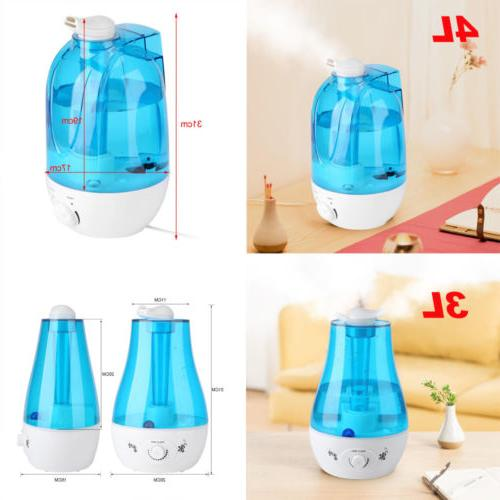 3L/4L Diffuser Home Mist Purifier With LED