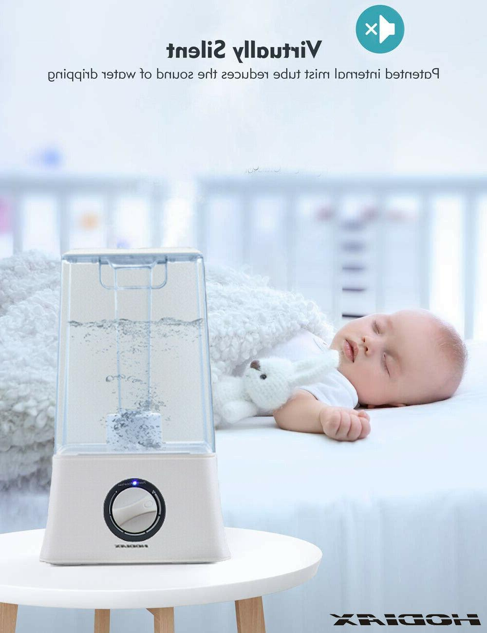 4.5L Ultrasonic Humidifier Adjusting Cool Mist Diffuser Air