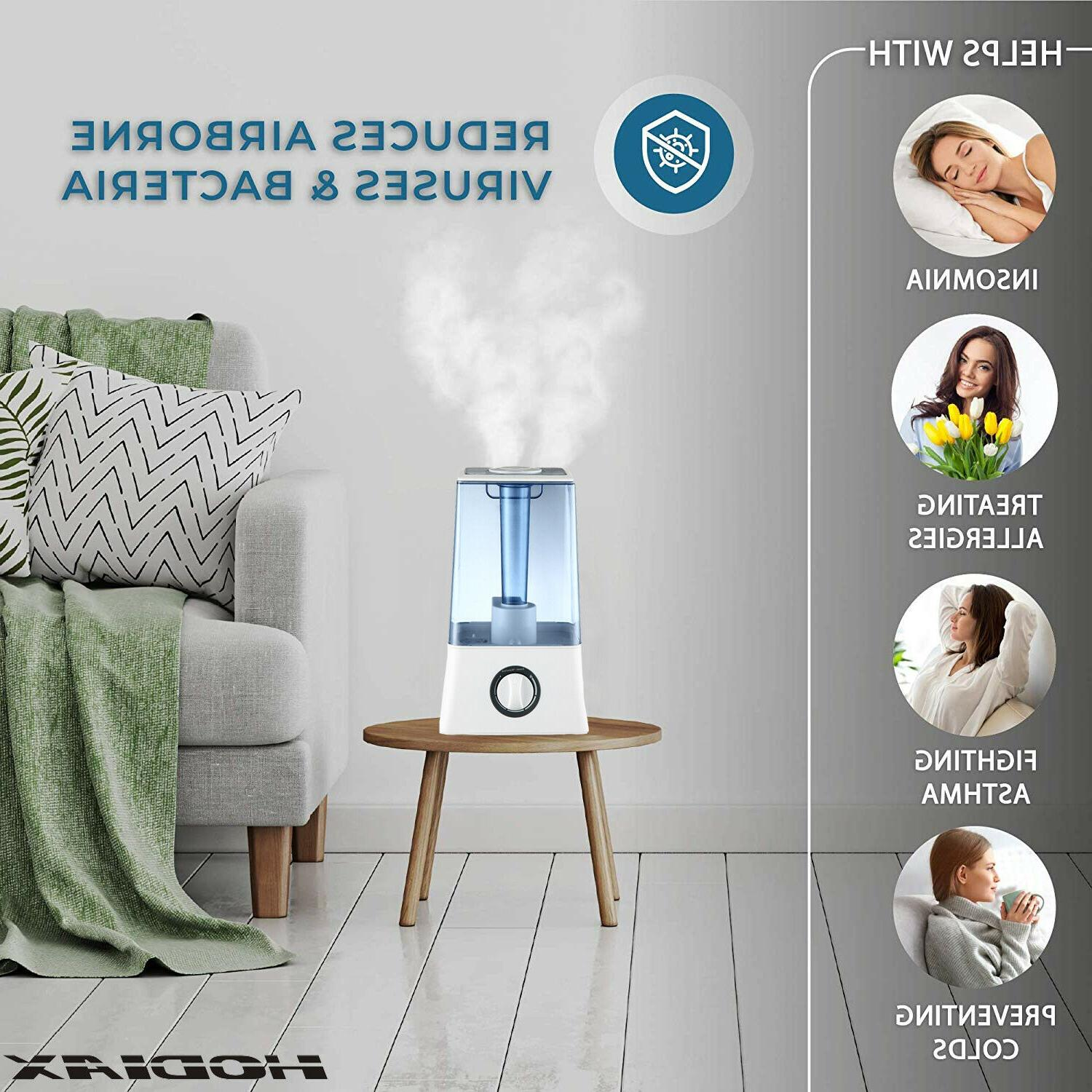 4.5L Humidifier Cool Air Diffuser Purifier Lonizer Humidifie For