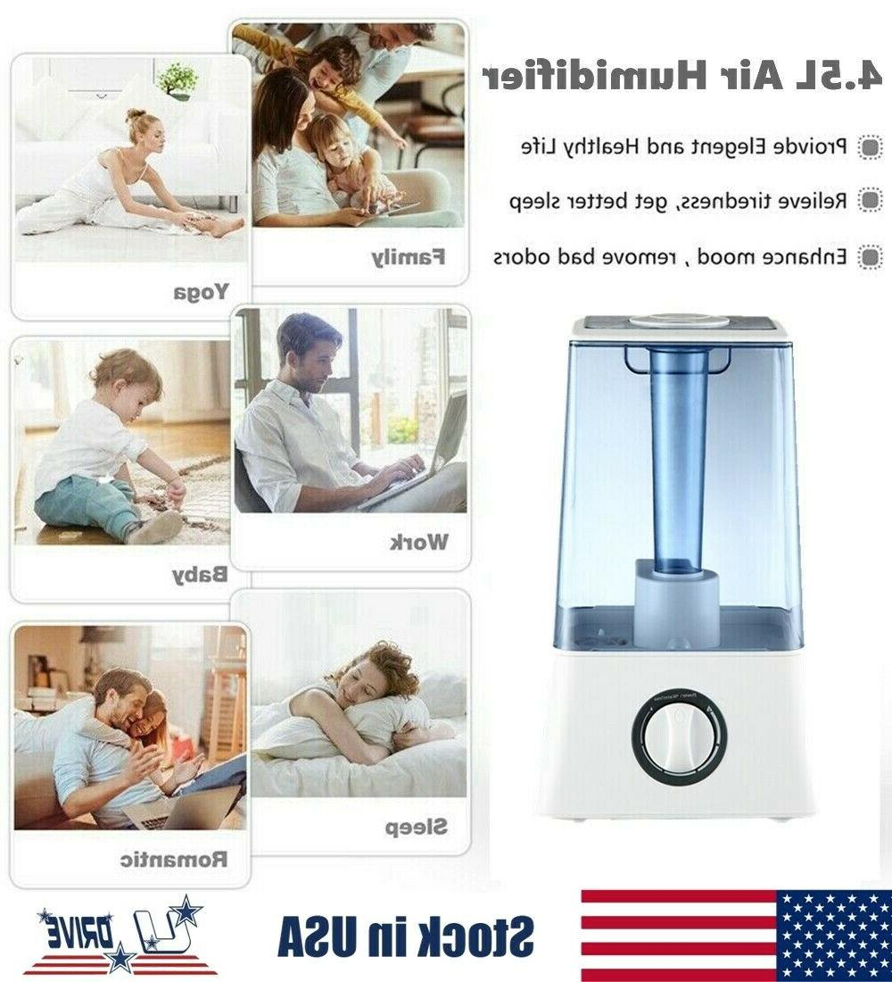 4.5L Cool Air Purifier Diffuser Ultrasonic Home