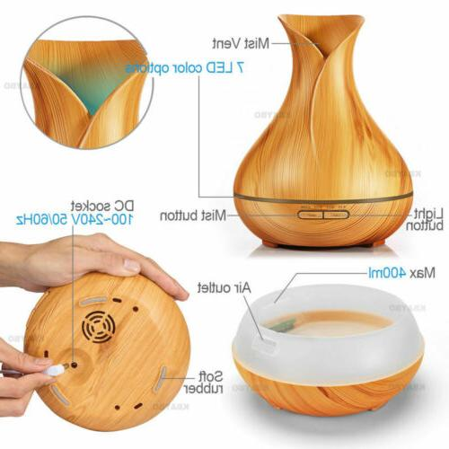 400ml Oil Ultrasonic Humidifier