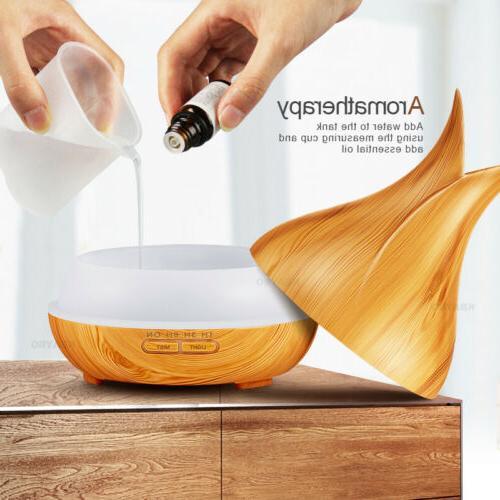 400ML Air Aroma Purifier Aromatherapy Atomizer US
