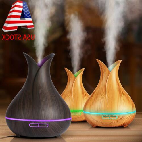 400ml 7led light humidifier air aroma diffuser