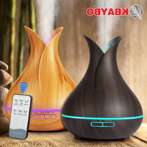 400ml wood humidifier air control aroma air