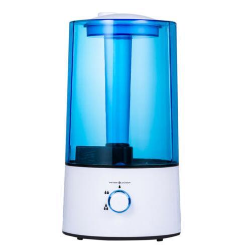 4L Ultrasonic Cool Water Mist Room Air Humidifier/Purifier/D