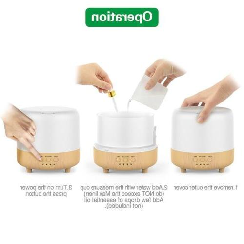 500ml Essential Oil Diffuser Air