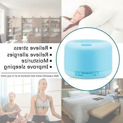 500ML Control Humidifier Oil Diffuser Aromatherapy