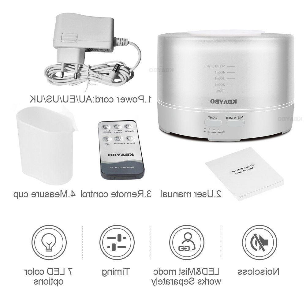 500ml Humidifier Aromatherapy