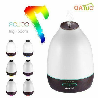 Outad 500Ml Essential Oil Diffuser Ultrosonic Aromatherapy D