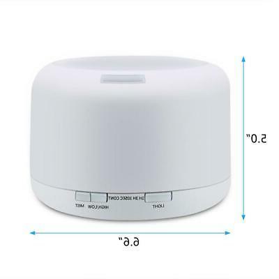 500ML Remote Humidifier Essential Diffuser Aromatherapy