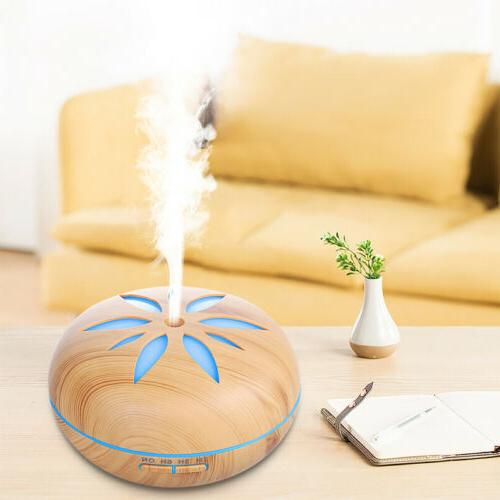 550ml air humidifier ultrasonic cool mist steam