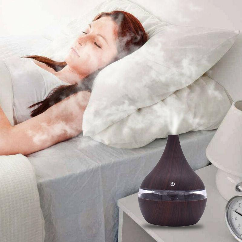 Air Aroma Oil Diffuser LED Ultrasonic Aroma Aromatherapy