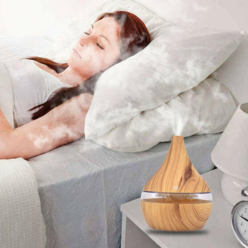 Air Essential Diffuser LED Aromatherapy Humidifier