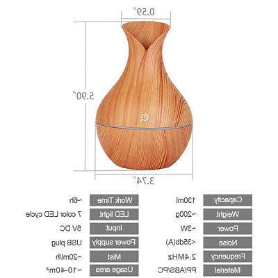 7 Color 130ML Essential Oil Grain Aromatherapy