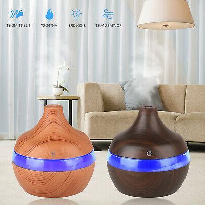 7 color led ultrasonic aroma humidifier air