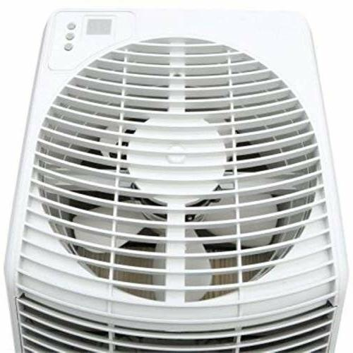 AIRCARE 831000 Space-Saver, White Whole Evaporative Humidifier 2700 sq.