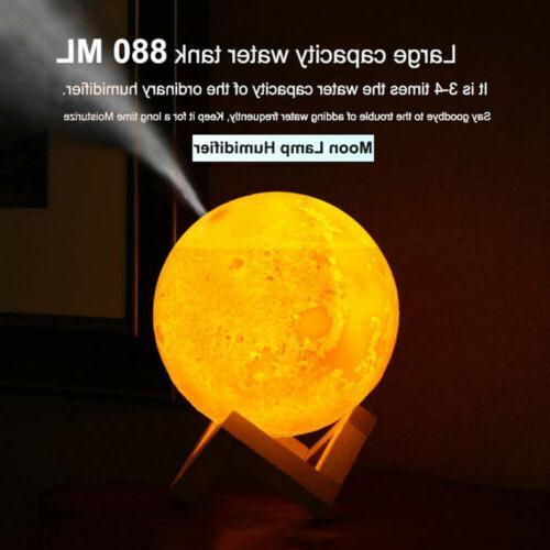 New USB Oil Air 3D Light