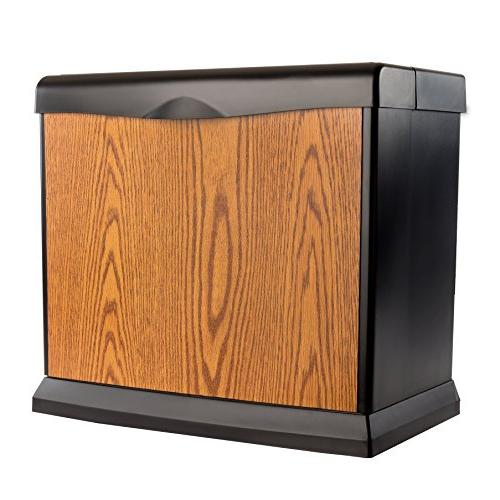 AIRCARE EA1407 Digital Console-Style Evaporative Honey Oak