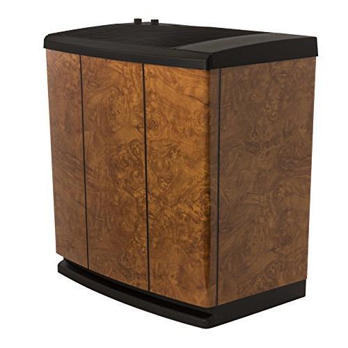 AIRCARE H12-400HB Whole-House Console-Style Evaporative Humidifier, Oak Burl