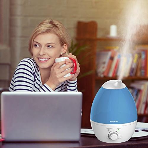 Aennon 2.8L Humidifiers 20 Use, 7 Lights, Bedroom