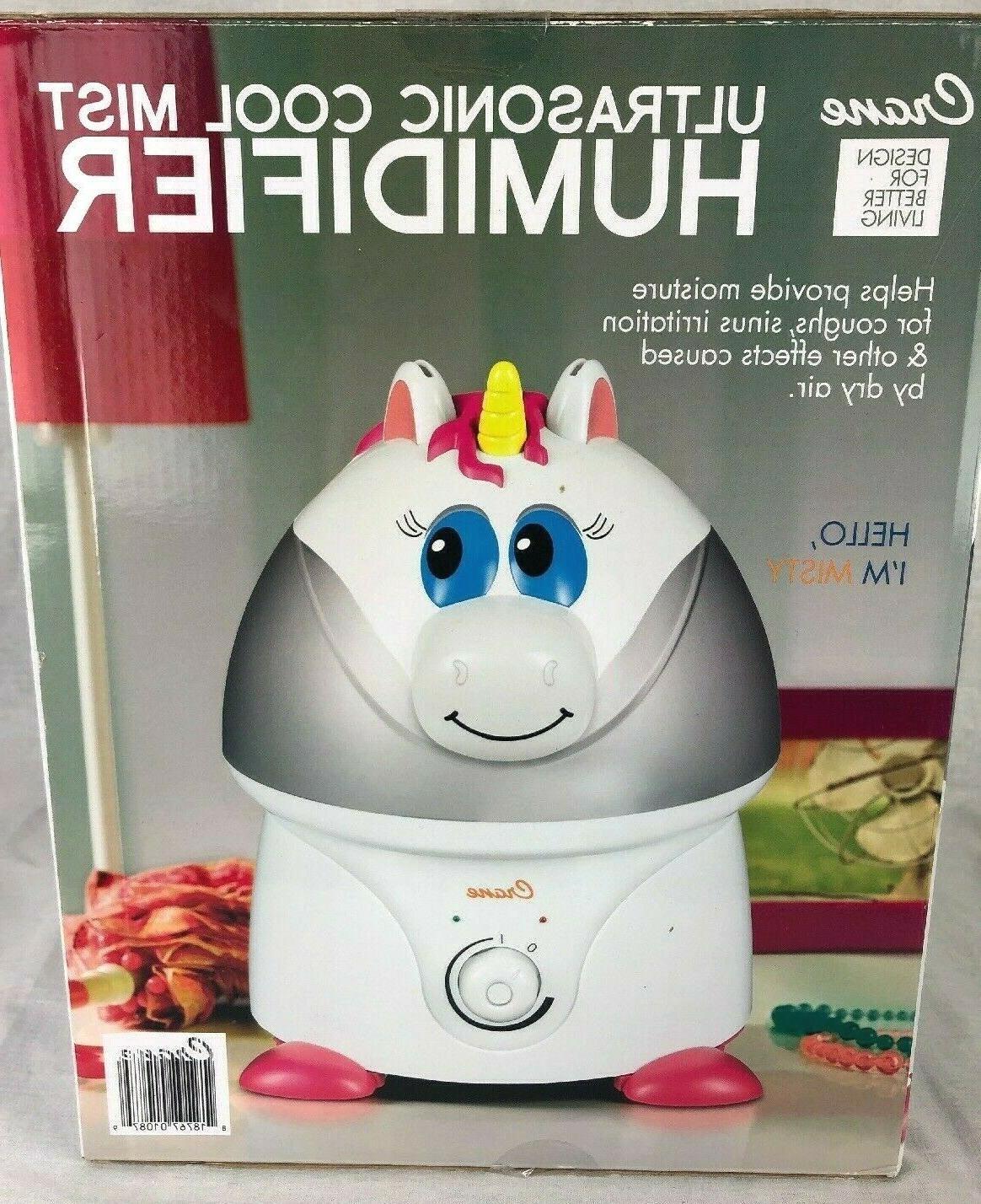 Crane USA Cool Mist Humidifier for Kids, Unicorn