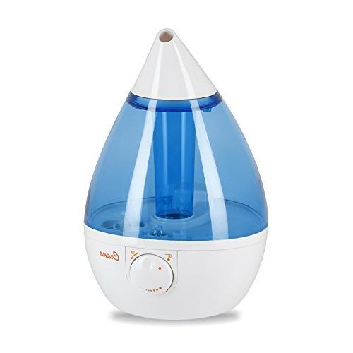 Crane USA Humidifiers - Blue & White Drop Ultrasonic Cool Mi