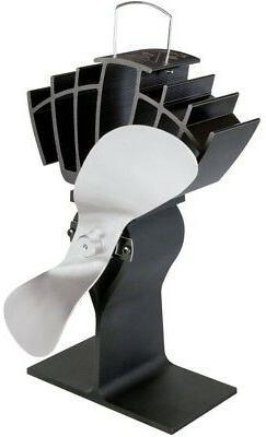 Ecofan 810CAKBX UltrAir Mid-Size Heat Powered Wood Stove Fan