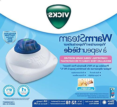 Vicks Nursery Vaporizer with Steam Vaporizer Room
