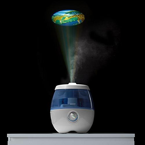 Vicks Dreams Cool Mist Humidifier for Kids 0.5 20 Hours of Moisturized VapoPads