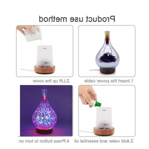 A-Ultrasonic Essential Diffuser Mist Aromatherapy