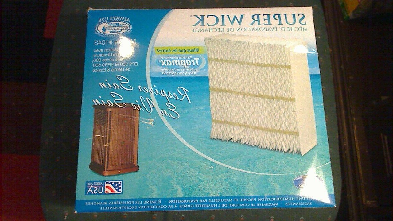aircare super wick evaporative humidifier