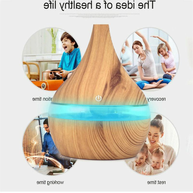 Air Essential Diffuser Ultrasonic Aroma Aromatherapy Humidifier