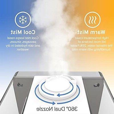 LEVOIT Humidifier Cold Ultrasonic Mini Small