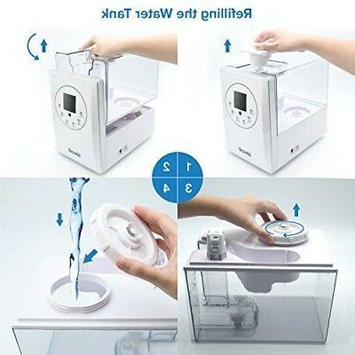 LEVOIT Humidifier Diffuser Cold Mini Small Bedroom